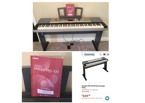 Yamaha 88 Key Arranger Grand Piano